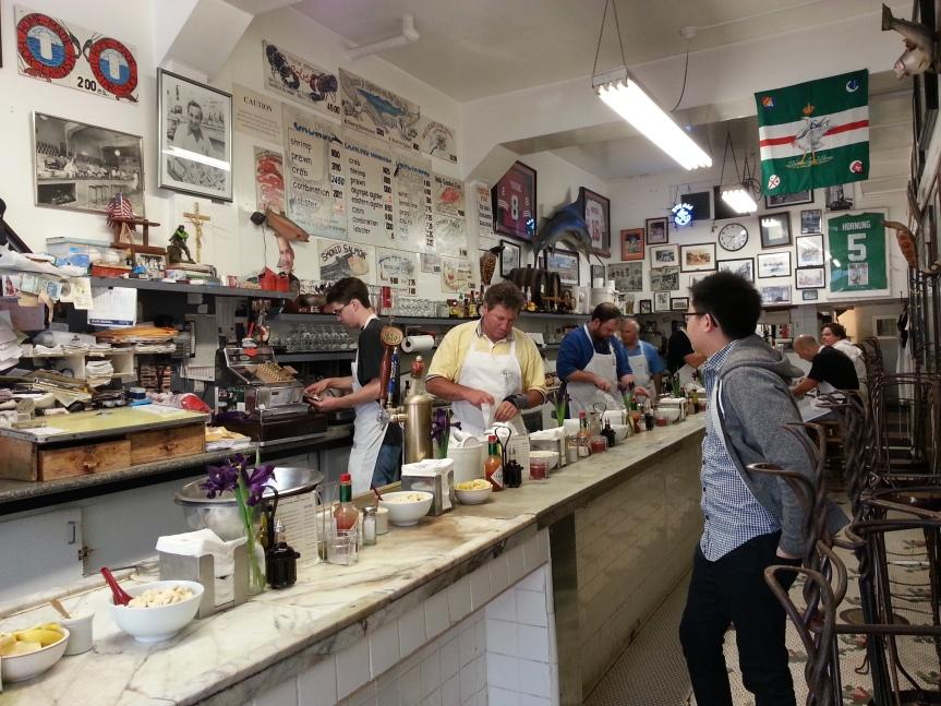 (San Fran Trip) Swan Oyster Depot – NobHill