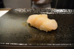 Scallop, from Hokkaido with yuzu zest and pink rock salt