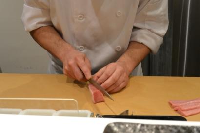 Preparing Ootoro