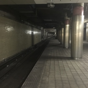 Preview to our Resident Evil escape-it (aka, subway station)